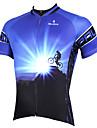 PALADIN Bicicletta/Ciclismo Maglietta/Maglia / Top Per uomo Maniche corteTraspirante / Resistente ai raggi UV / Asciugatura rapida /