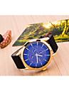 Men's Fashion Big Dial Business Quartz Analog Leather Band Sports Wrist Watch(Assorted Colors) Cool Watch Unique Watch
