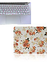 2015 Newest Flower Pattern Full Body Case Cover and TPU Keyboard Cover for Macbook Pro 13.3 inch
