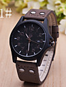 Men's  Watch New Casual Leather Calendar Belt Watch Wrist Watch Cool Watch Unique Watch