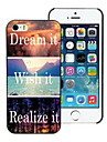 Dream it and Wish it, Realize it Design Hard Case for iPhone 4/4S