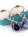 Women\'s Fashion Gold Filled CZ Stone Dangle Earring