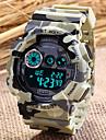 SANDA Masculino Relógio Esportivo Relógio de Pulso Relogio digital Quartzo Digital Quartzo Japonês LCD Calendário Cronógrafo alarme