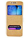 DF шелк рисунок двойной окно дело всего тела для Samsung S6 (ассорти цветов)
