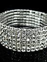 Bracelets Rigides Mariee bijoux de fantaisie Imitation Diamant Bijoux Pour Mariage Regalos de Navidad