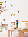 Wall Stickers Wall Decals Style Color Street Lamp PVC Wall Stickers