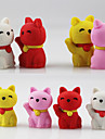 Lovely Fortune Wealth Lucky Cat Assemble Rubber Eraser (Random Color)