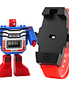 SKMEI® Kid's Digital Toy Watch Assembly Transformer Robot Style Wristwatch Cool Watches Unique Watches Fashion Watch Strap Watch