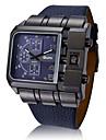 男性 腕時計 日本産クォーツ 軍用腕時計 レザー バンド リストウォッチ