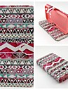 For Samsung Galaxy Case Card Holder / Wallet / with Stand / Flip Case Full Body Case Lines / Waves PU Leather SamsungCore Prime / Core