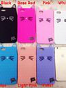 nuevas orejas de gato del gato del diamante lindo cascara de gel de silice durante 6s iphone mas / 6 Plus (colores surtidos)
