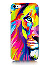 Colorful Lion Pattern Back Case for iPhone 6s 6 Plus