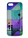 Couple Dandelion Under Pattern PC Material Phone Case for iPhone 5C