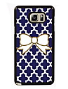 Bowknot Design Slim Metal Back Case for Samsung Galaxy Note 3/Note 4/Note 5/Note 5 edge