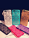 For iPhone 6 Case / iPhone 6 Plus Case Embossed Case Back Cover Case Solid Color Hard PC iPhone 6s Plus/6 Plus / iPhone 6s/6