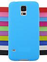 сплошной цвет желе силиконовый чехол шаблон дизайна для Samsung Galaxy S4 мини-i9190