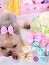 Cat / Dog Hair Accessories / Hair Bow Yellow / Blue / Pink Dog Clothes Spring/Fall Wedding / Cosplay