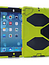 antichoc recent cas de dirtproof coquille impermeable + clip ceinture pour iPad air (couleurs assorties)