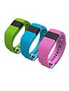 tw64 pulseira smartband vida wearable smartwatch hodometro a prova d\'agua para android ios