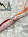 M&X Squid Lure Wobbler 23cm 40g Fishing Lures For Trolling Bionic Artificial Bait Minnow (1Pcs Colour 2#)