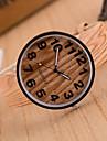 Women's European Fashion Vintage Imitation Wood Grain Wrist watch Cool Watches Unique Watches