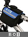 BOI® Bolsa de Bicicleta 1.9LBolsa para Guidao de BicicletaA Prova-de-Agua / Ziper a Prova-de-Agua / Camurca de Vaca a Prova-de-Choque /