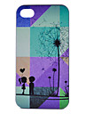 Dandelion Pattern PC Hard Case for iPhone 4/4S
