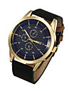 Men Watches Leather Band Leisure Watch Vintage Wrist Watch Quartz Watches(Assorted Colors) Cool Watch Unique Watch