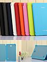 용 삼성 갤럭시 케이스 스탠드 / 자동 슬립/웨이크 기능 / 플립 / 오리가미 케이스 풀 바디 케이스 단색 인조 가죽 Samsung Tab 4 7.0 / Tab 3 7.0 / Tab 3 Lite