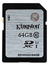 Kingston 64GB Class 10 SD/SDHC/SDXCMax Read Speed20 (MB/S)Max Write Speed10 (MB/S)