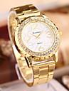 Women\'s Watch L.WEST Fashion Diamonds Steel Band Quartz Watch Cool Watches Unique Watches