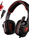 Sades Stereo 7.1 Surround Pro USB Gaming Headset with Mic Headband Headphone