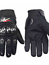 PRO-BIKER Professional Skid-Proof Full Finger Stainless Steel Motorcycle Racing Gloves