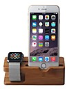 Apple Watch and iPhone Bamboo Stand Charging Dock Station Bracket Cradle Holder For Apple Watch iWatch