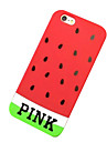 Watermelon Seed Silicone Soft Back Case for iPhone 5/5S(Assorted Colors)