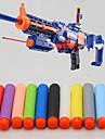 100 pcs nerf 7.2cm n-huelga pistolas serie Retaliator alboroto elite recarga clip de dardos de bala suave
