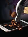nueces rompiendo nano a prueba de super blando anti-rompiendo pelicula de telefono para el iphone 5 / 5s