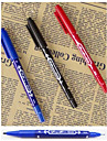 2Pcs  Permanent Pen Large Marker Pen Fadeless Marking Pen