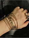 Bracelet Manchettes Bracelets Alliage Amour Quotidien / Décontracté Bijoux Cadeau Doré