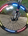 Bike Light , Bike Wheel Rims Luminous Reflective Stickers