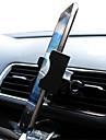 nuevo coche de aire del modo de ventilacion montaje soporte para coche soporte de cuna para samsung / iphone / lg / htc / sony