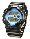 Men's Classic Digital LCD Rubber Sports Wristwatch Wrist Watch Cool Watch Unique Watch