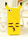 Cartoon Animal Figure Silicone Soft Back Cover for iPhone 4/4S(Assorted Colors)