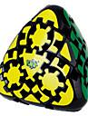 Smooth Speed Cube 3*3*3 / Pyramorfisch / Tandwiel Snelheid Magische kubussen Zwart Fade ABS