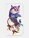Owl Pattern PU Leather Full Body Cover with Stand for Samsung Galaxy S3/S4/S5/S6/S6 Edge/S6 Edge Plus