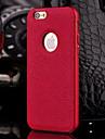 caja del cuero genuino de lujo hzbyc®new para el metal integrado caso del marco para el iphone de apple 6plus / 6s mas (colores surtidos)