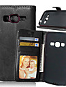 Leather Card Holder Wallet Stand Flip Cover With Frame Case For Samsung Galaxy  Core Prime/Core LTE/Xcover 3/Grand Neo+