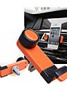 Rotation de 360 degrés de la climatisation automobile vent support de téléphone portable universel port (couleur aléatoire)