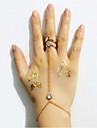 Кольца на вторую фалангу Сплав Мода Золотой Бижутерия Свадьба Для вечеринок Повседневные 1шт