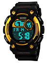 Męskie Zobacz Cyfrowe Sportowy LED / Kalendarz / Chronograf / Wodoszczelny / alarm / Sportowy PU Pasmo Zegarek na nadgarstek
